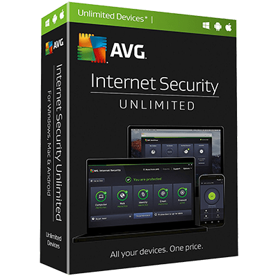 AVG Internet Security Multi Devices 2017 2 Years Unlimited