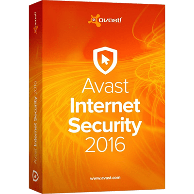 Avast Internet Security 2016 - 1 Year 1 PC