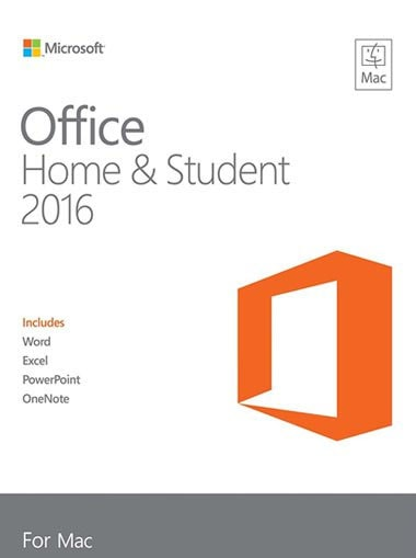 Office Home & Business 2016 for Mac English Medialess