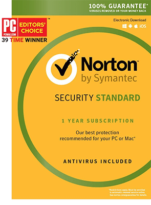 Norton Security Standard Multi Devices 2017 1 Year 3 PC