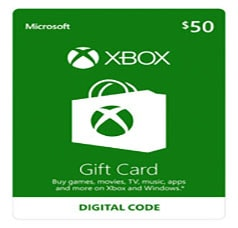Xbox Gift Card 50$ USA